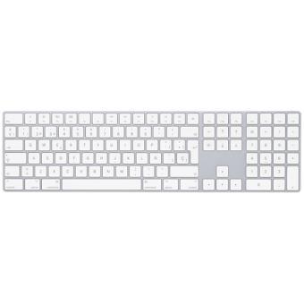 Apple Magic Keyboard con teclado numérico Blanco
