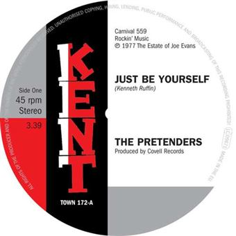 """Just Be Yourself/It's Everything About You (That I Love) - Single Vinilo 7"""""""