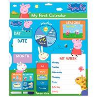 Calendario interactivo Peppa Pig My First Calendar