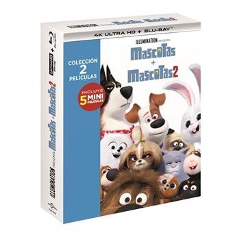 Mascotas 1-2 - UHD + Blu-Ray