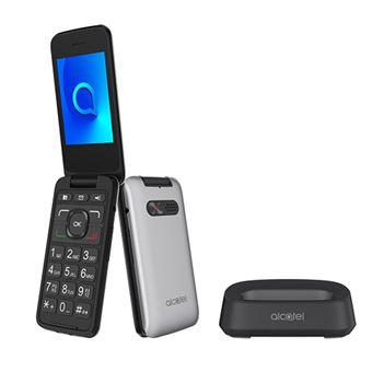 Teléfono móvil Alcatel 30.26 Plata