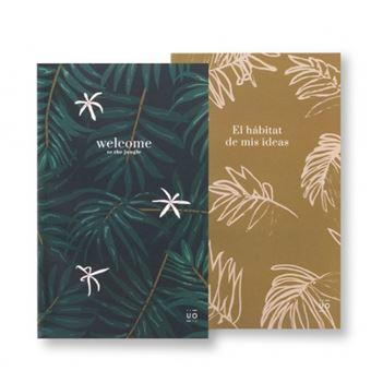UO Libretas Medianas - Hábitat de mis ideas Pack