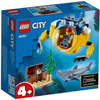 LEGO City océano: minisubmarino