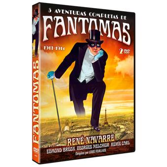 Pack Fantomas - DVD