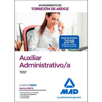 Auxiliar Administrativo/a del Ayuntamiento de Torrejón de Ardoz - Test