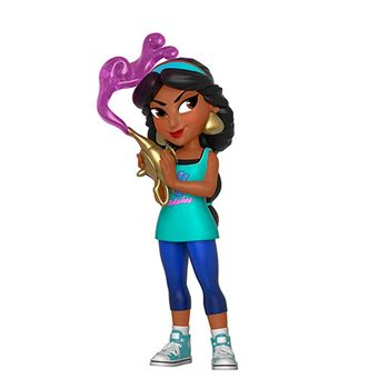 Figura Funko Rock Candy Disney Ralph rompe Internet - Jasmine