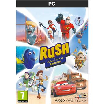 Rush A Disney Pixar Adventure PC