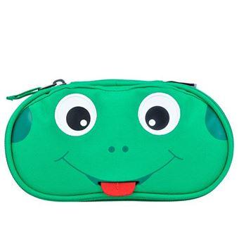 Estuche Rana Finn verde