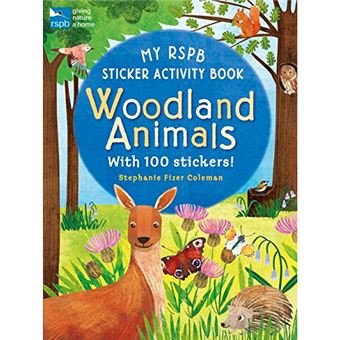 My RSPB Sticker Activity Book - Woodland Animals