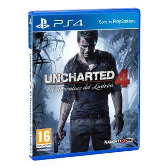 Uncharted 4: El Desenlace del Ladrón PS4