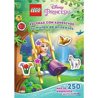 Lego Disney Princesas - Escenas con adhesivos - Tu mundo de princesas