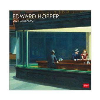 Calendario de pared 2021 Legami 30x29 cm Edward Hopper