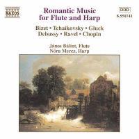 Música romántica para flauta y arpa