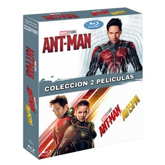 Pack Ant-Man 1 y 2 - Blu-Ray