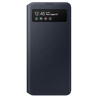 Funda Samsung S View Negro para Galaxy A51