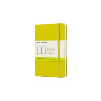Libreta Moleskine Plain Notebook Pocket Amarillo Diente de León Liso
