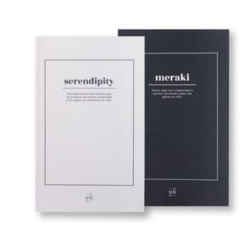 UO - Pack Libretas Medianas Lisas - Serendipity/Meraki