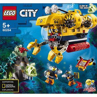LEGO City océano: submarino de exploración