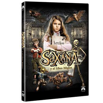 Saxana y el libro mágico - DVD