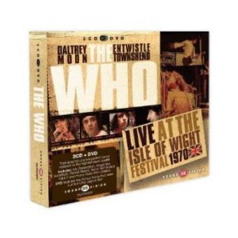 Live At The Isle Of Wight 70 + DVD
