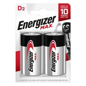 Pilas Energizer Max  D / LR20