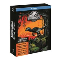 Pack Parque Jurásico 1-5 - Blu-Ray