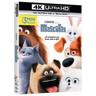 Mascotas - UHD + Blu-Ray