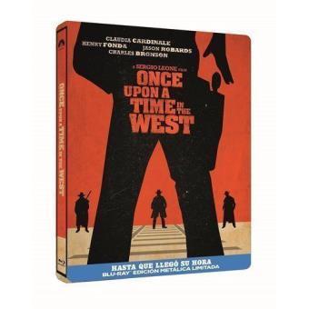 Hasta que llegó su hora - Steelbook Blu-Ray  Ed Limitada