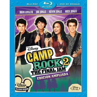 Camp Rock 2: The Final Jam. Edición ampliada - Blu-Ray + DVD
