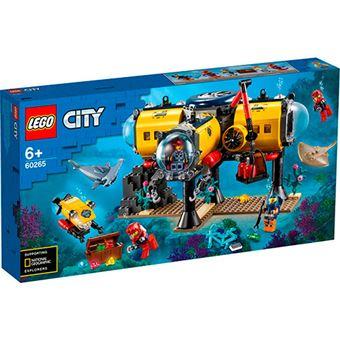 LEGO City océano: base de exploración