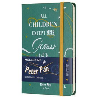 Libreta Moleskine Peter Pan Indians Pocket Verde - Ed Limitada
