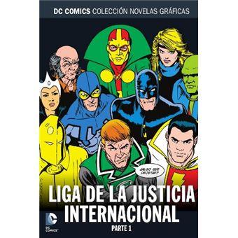 Colección Novelas Gráficas 76. Liga de la Justicia Internacional Parte 1