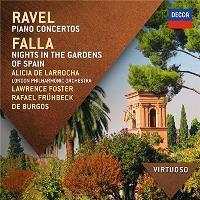 Ravel: Piano Concertos - Falla: Nights In The Gardens Of Spain