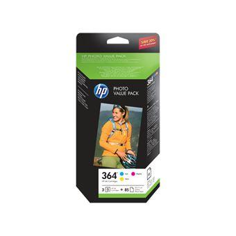 Tinta HP Photo Value Pack 364  (CMY)