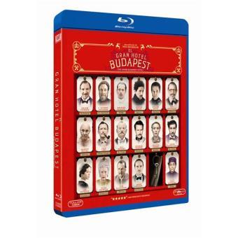 El Gran Hotel Budapest - Blu-Ray
