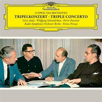Ludwig Van Beethoven - Triple Concerto - Tripelkonzert - 2 Vinilos + CD