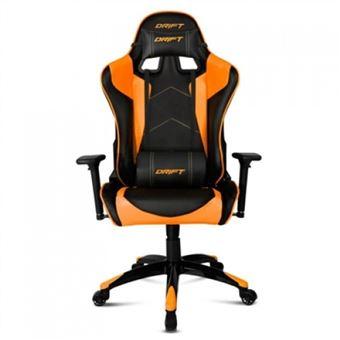 Silla Gaming Drift DR300 Negro - Naranja