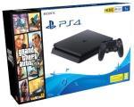 Consola PS4 Slim 1TB + Grand Theft Auto V