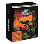 Pack Parque Jurásico 1-5 - UHD + Blu-Ray