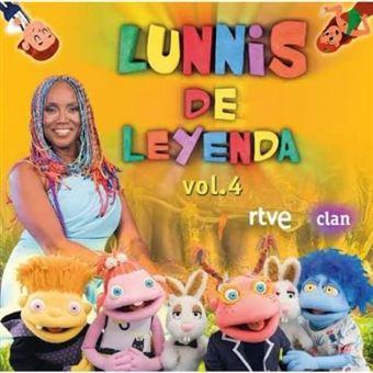Lunnis de leyenda - Pack Regalo 4 CD + 4 DVD