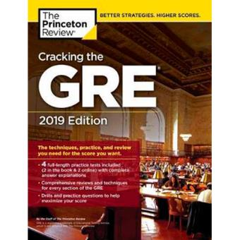 Cracking the GRE 2019