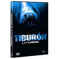Pack Tiburón 2, Tiburón 3 y Tiburón, la venganza - DVD
