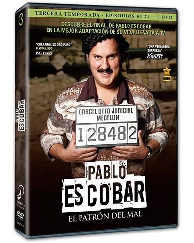 Pablo Escobar - Temporada 3 - DVD