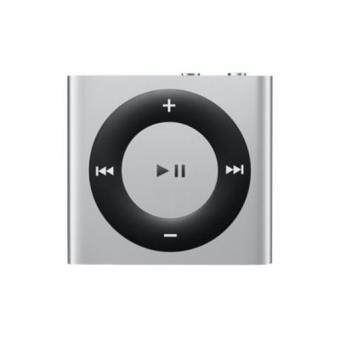 Apple iPod Shuffle 2 GB Silver Cuarta Generación - Reproductor MP3 ...