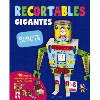 Recortables gigantes - Robots