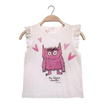Camiseta Monstruo Rosa Talla 4