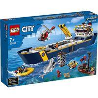 LEGO City océano: buque de exploración