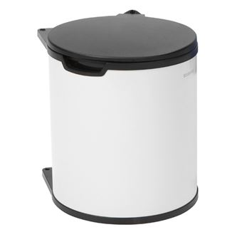Cubo de basura empotrado Brabantia 428081 15 L Blanco