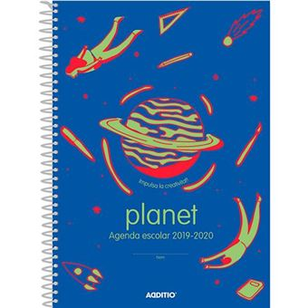 Agenda 2019-2020 Additio Planet - Ed catalán