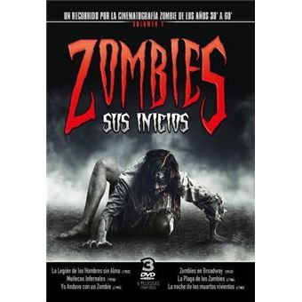 Pack Zombies - Sus inicios Vol. 1 - 3 DVD